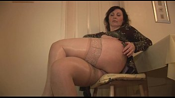 thick stocking mature anle in older Tranny fucking straight s