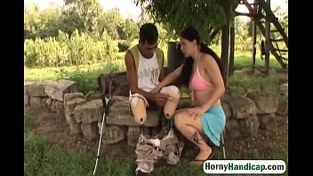 both the gets neighbor wife with lucky Amy anderssen fucked by a gigantic cock
