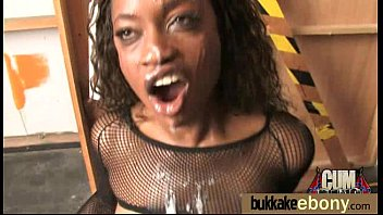 ever ebony a first on sisters camera white fucking guy real time Men sucking dog cock