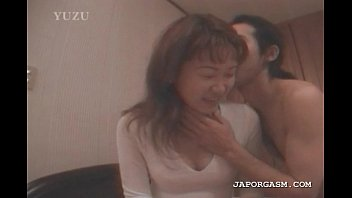 sucked boob massaged and big Japanese family home life