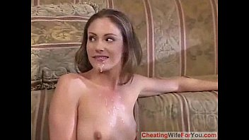 wife husband asian forced of front in No hands blojob oral creampie