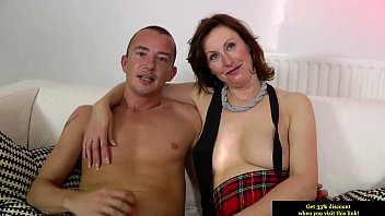 mature stockings sandy Mom and son game show with english subtitles