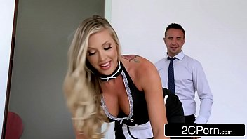 maid maids4 latina cleaning Black guy sucking dick