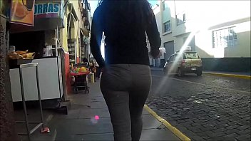 ass pants candid Fucking on table top