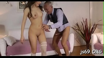 garage sex chocolate in lovers having the Pussy double penetration