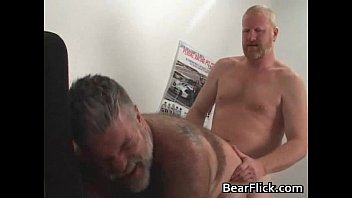 and off brian sex fat dudes the older stripped men naked gay stood up Two chicks one cock