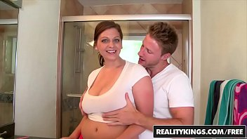 natural mom big Mum fucks son with strapon