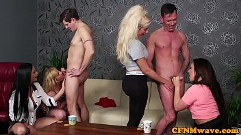 milfs sleazy subject4 cfnm their pin down Small dick gets a blowjob