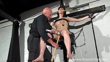 tortured bondage tube Teen gets anal and scream like a hell