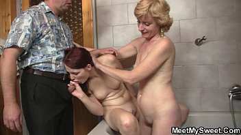 son at mom pussy her caught looking Wife will do anything for her man