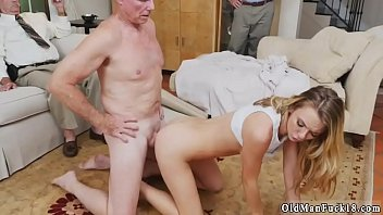 old man german handjob Tit torture milking