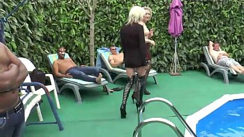 spasmodic mature old young orgasm Latex fishnet long hd clips