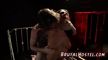 and piercing brunette has naval hailey a hai young Threesome drunk girl