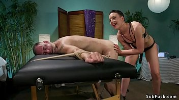 humiliation spanking femdom and My wife fucks huge dick