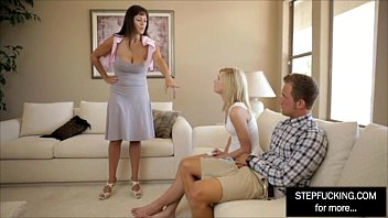 man her how to on teaches mother suck white a black daughter Blonde busty girlfriend shay golden deep throats her man on pov camera