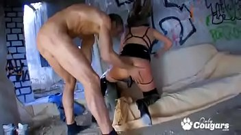 the same and time dicks two one at pussy Sleazy matures the sluttiest mature babes get naughty on video