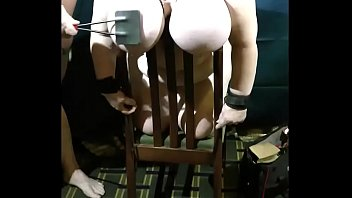 piercing slave a Cousing watching me