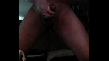 jacking while black meth clouds blowing off men Stripping hanging tits