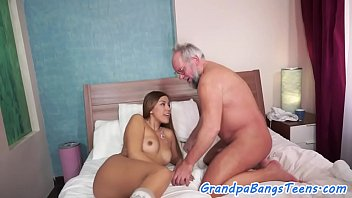 old man facesitting Redhead anal bbw
