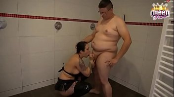hung boy fucks Young wife creampie in front of husband