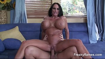 milf big tit mom in 20 hardcore porn Sweetheart is satisfying two hungry male ramrods