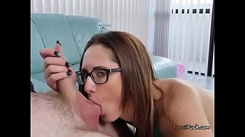cock slut horny brunette sucks hot big part4 Mom son sexx story