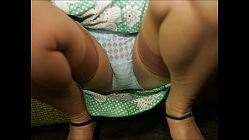 omis nylons in Japanese living dolls pestered by horny men